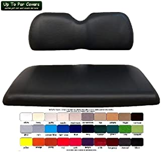 Club Car Precedent Custom Golf Cart Seat Cover Set Made with Marine Grade Vinyl - Staple On - Choose Your Color From Our Color Chart!
