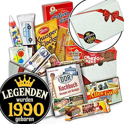 Legenden 1990 - Süßes Ostpaket - Geburtstags Geschenk für Ihn