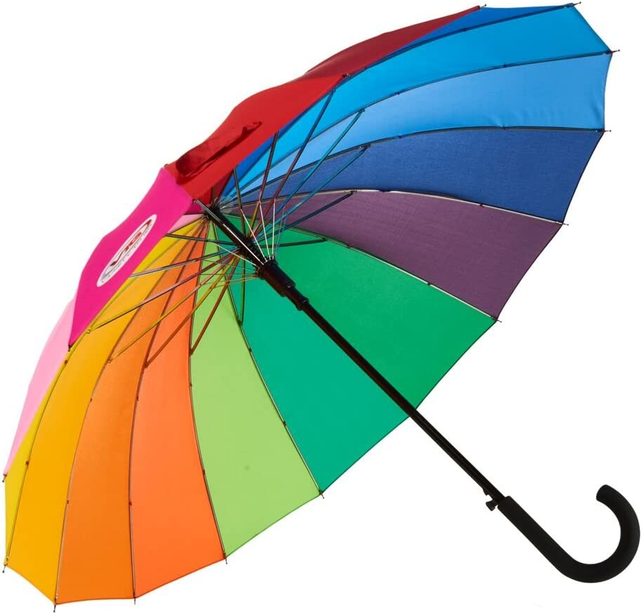 security Variety To Go® Rainbow Don't miss the campaign Umbrella Compact Large