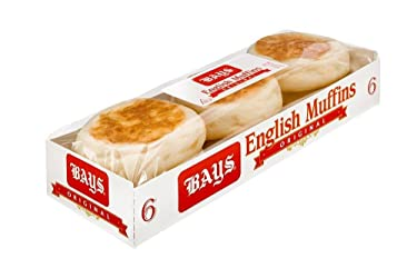 Bays, English Muffins, 6 ct, 12 oz