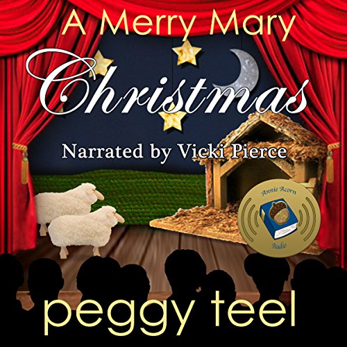 A Merry Mary Christmas audiobook cover art