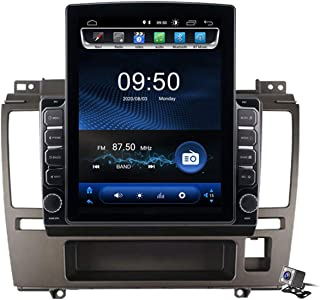 Android 9.0 Car Stereo, Radio for Nissan Tiida C11 2002-2011 GPS Navigation 9.7 Inch Vertical Screen MP5 Multimedia Player...