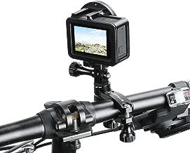 Flycoo2 360 Degree Rotation Bike Handlebar Adapter Mount for GoPro New Hero / HERO7 / 6/5 / 5 Session / 4 Session XiaoYi Action Camera Expansion Movement Stabilizer Bracket Holder