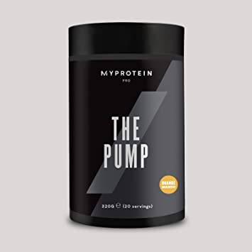 My Protein The Pump Pre Workout Orange Mango 20 porciones ...