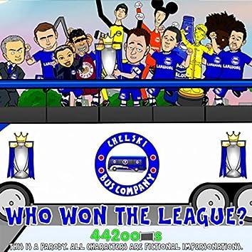 Who won the league? Chelksi! Chelski!