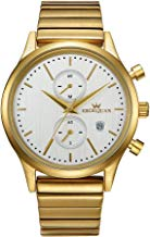 JETIME EXCEIJUAN C10550 Rose-Gold and stainless steel Bracelet Waterproof Watch-Golden color