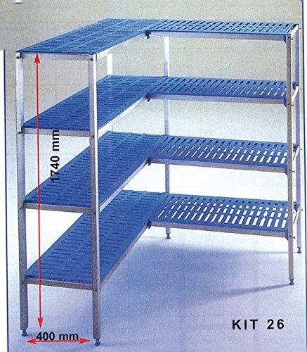 Scaffale Sistemi per Celle Frigo, 1180+ 890mm