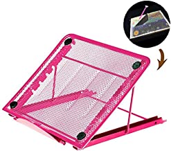 Stand for Diamond Painting Light Pad, A4 LED Light Box Board Holder of 5D Diamond Painting Kits Tool Craft Supplies (Rose Red)