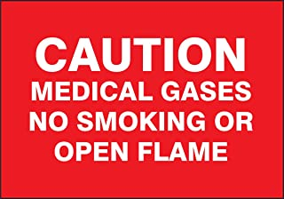 Accuform Signs MGS142 Magnetic Vinyl Patient Care Sign, Legend