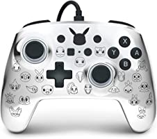 PowerA Enhanced- Pikachu Black & Silver, Nintendo Switch Lite, Gamepad, Game Controller, Wired Controller, Officially...
