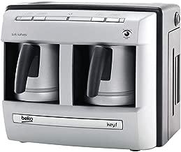 بيكو ماكينة تحضير القهوة التركية مسحوق,فضي - BKK 2113-P
