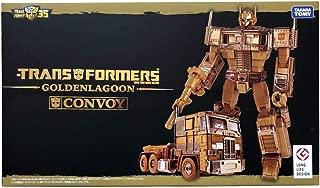 TAKARA TOMY Transformers 35TH Anniversary MP-10G Gold Lagoon Optimus Prime