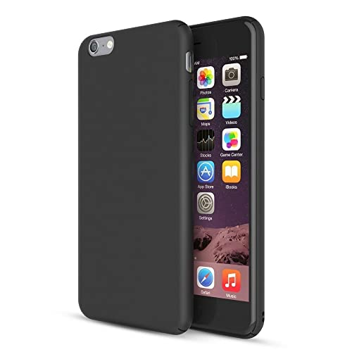 quality design 6cc13 b89ec Matte Black Iphone 6s Case: Amazon.com