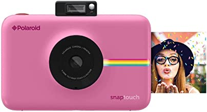 Polaroid Snap Touch Portable Instant Print Digital Camera with LCD Touchscreen Display (Pink)