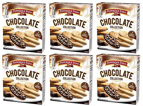 PACK OF 6 - Pepperidge Farm Chocolate oz 13 Cookies Outlet SALE Collection Oakland Mall