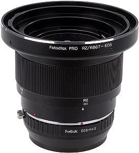 Fotodiox Pro Lens Mount Adapter Mamiya RB67 RZ67 Mount SLR Lenses Micr...