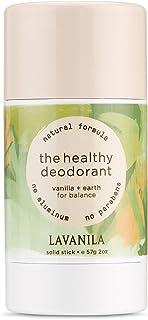 Lavanila - The Healthy Deodorant. Aluminum-Free, Vegan, Clean, and Natural - Vanilla + Earth: For Balance 2 oz