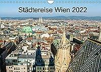 Staedtereise WienAT-Version (Wandkalender 2022 DIN A4 quer): Sehenswuerdigkeiten in Wien (Monatskalender, 14 Seiten )
