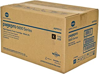 Konica Minolta A0FP012 PagePro 5650 Black Toner Cartridge (Black) in Retail Packaging