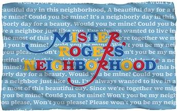 Mister Rogers Neighborhood, Song Lyrics, Fleece Throw Blanket (36