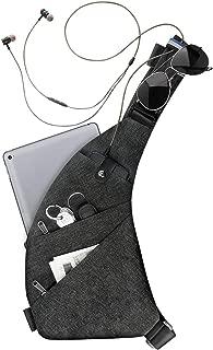 Sling Crossbody Brusttaschen Rucksack Schultertaschen Herrentaschen für Outdoor-Sport Reisen Wandern
