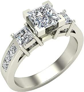 Best past present future diamond ring princess cut Reviews