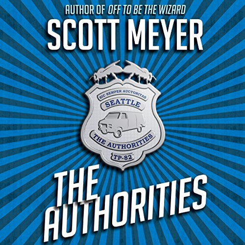 The Authorities audiobook cover art