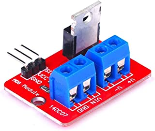 Gugutogo 0-24V Top Mosfet Button IRF520 Mos Driver Module Board para MCU Arm Raspberry Pi Electronic DIY Tool Dimming LED