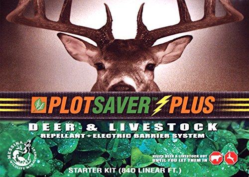 Messina Wildlife PSP-100 PLOTSAVER Plus Deer Repellent Starter Kit
