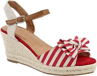 f1f0178a301e87 Amazon.fr : Rouge - Bottes et bottines / Chaussures femme ...