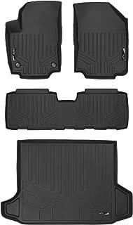 MAXLINER Floor Mats 2 Rows and Cargo Liner Black for 2018 Chevrolet Equinox