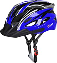 JBM Adult Cycling Bike Helmet Specialized for Men Women Safety Protection CPSC Certified (18 Colors) Adjustable Lightweigh...