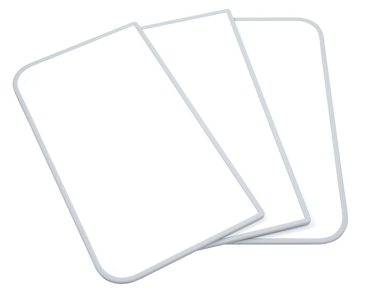 検体平和な四回東プレ 風呂ふた 組み合わせ式 センセーション(3枚割) 75×150cm用 ホワイト/ホワイト L15