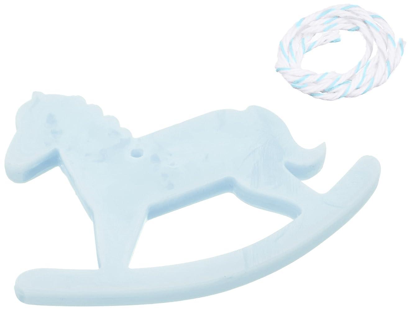 始まりヤギ壮大なGRASSE TOKYO AROMATICWAXチャーム「木馬」(BL) ローズマリー アロマティックワックス グラーストウキョウ