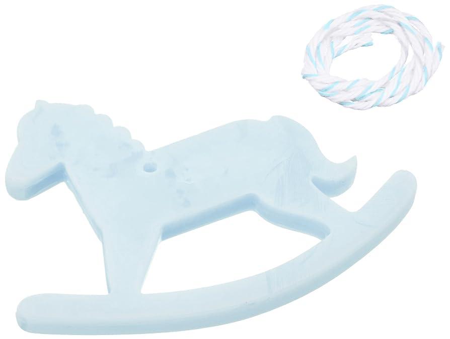 アリ歯科医ストレッチGRASSE TOKYO AROMATICWAXチャーム「木馬」(BL) ローズマリー アロマティックワックス グラーストウキョウ
