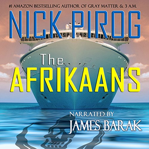 The Afrikaans audiobook cover art