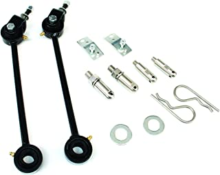 TeraFlex 1743090 Front Quick Disconnect Sway bar Link Kit (Jeep TJ 2