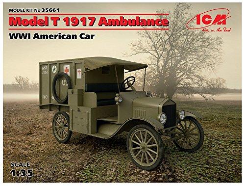 ICM 35661 – Maqueta de Model T 1917 Ambulance WWI