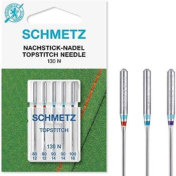 SCHMETZ Top Stitch Aghi per macchine da cucire 80-100