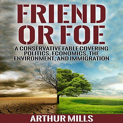 Friend or Foe audiobook cover art
