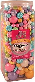 Celebration By Frey Mixlicious Spring Mix. Gumball & Chocolate Candy Mix 27.7 oz Party Jar