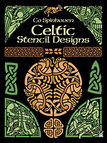 Celtic Stencil Designs: Pictorial Archive (Dover Pictorial Archive) (English Edition)