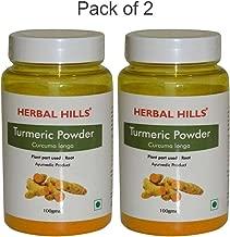 Herbal Hills Turmeric Powder - 100 gm (Pack of 2)