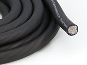 KnuKonceptz Kolossus Flex Kable OFC 0 Gauge Power Wire Copper Cable Black (20 ft) 1/0 AWG
