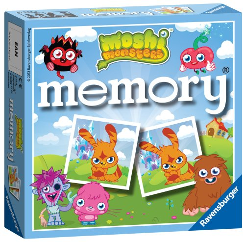 Ravensburger - Moshi Monsters Memory Spiel [UK Import]