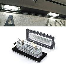 MOLEAQI 2 Piezas 18SMD LED luz de matrícula para B-ENZ S-Mart F-ortwo 450 451 453 2014-2018 LED lámpara sin Errores para C-oupe Convertible