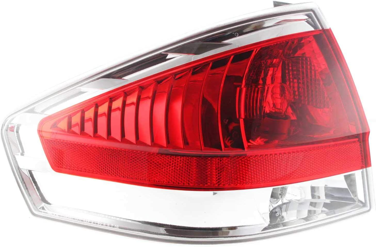 Max 41% OFF Evan-Fischer gift Tail Light Assembly Compatible with Ford Focus 2008