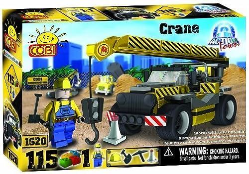 COBI Action Town Construction Crane, 115 Piece Set by COBI