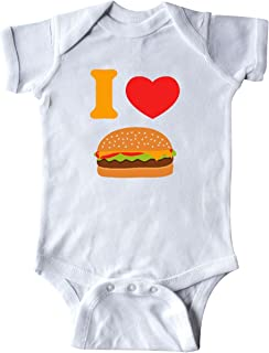 inktastic I Love Cheeseburgers Infant Creeper