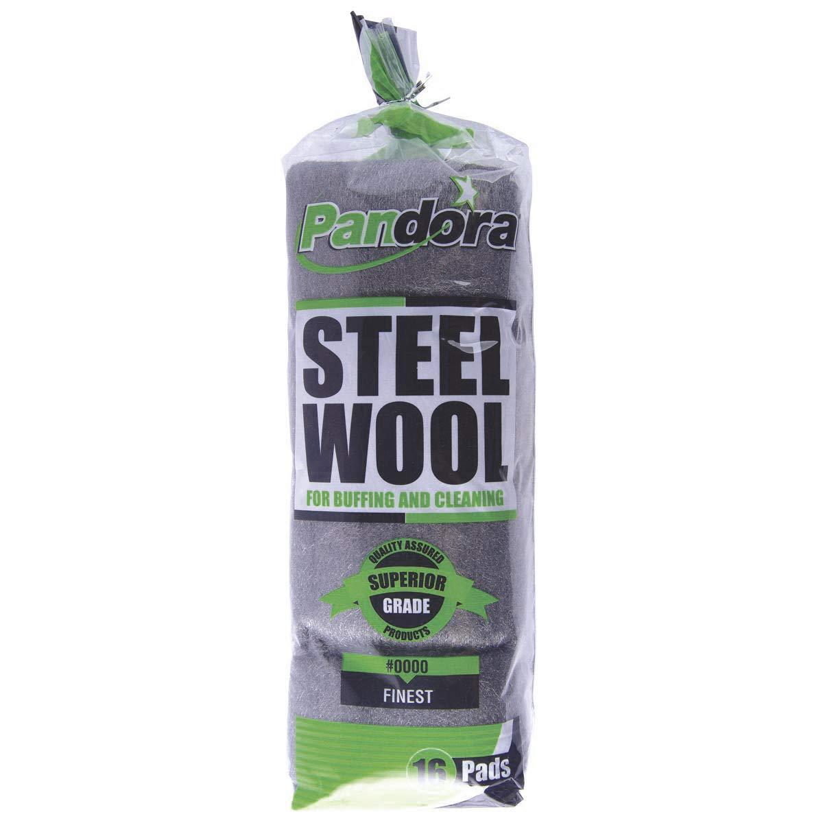 Pandora Sales Steel Wool 16 0000 Finest Pads Spasm price